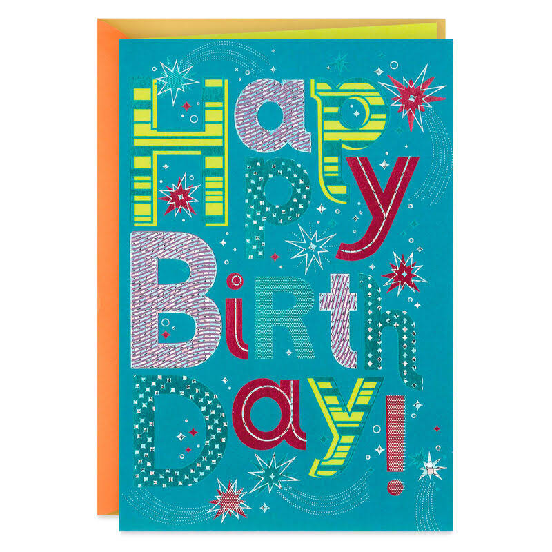 Talent for Kindness Birthday Card