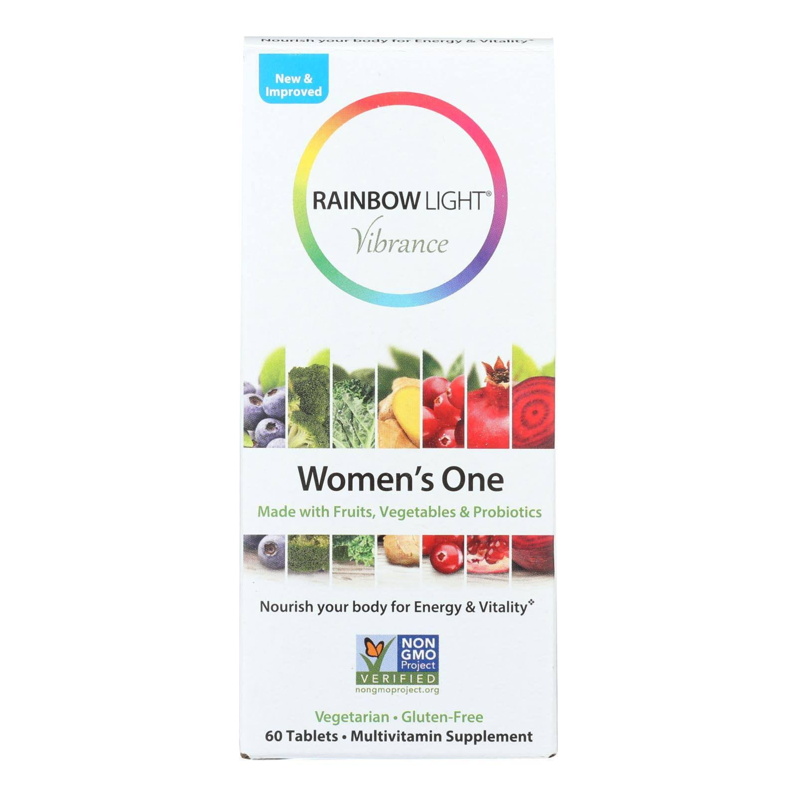 Rainbow Light Vibrance Women's One, Tablets - 60 tablets