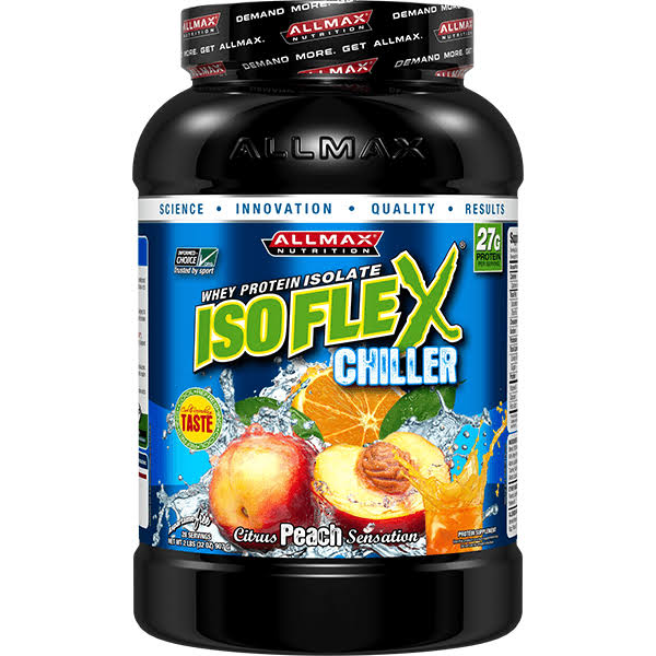 Allmax Nutrition Isoflex Chiller - Citrus Peach Sensation - 32 oz