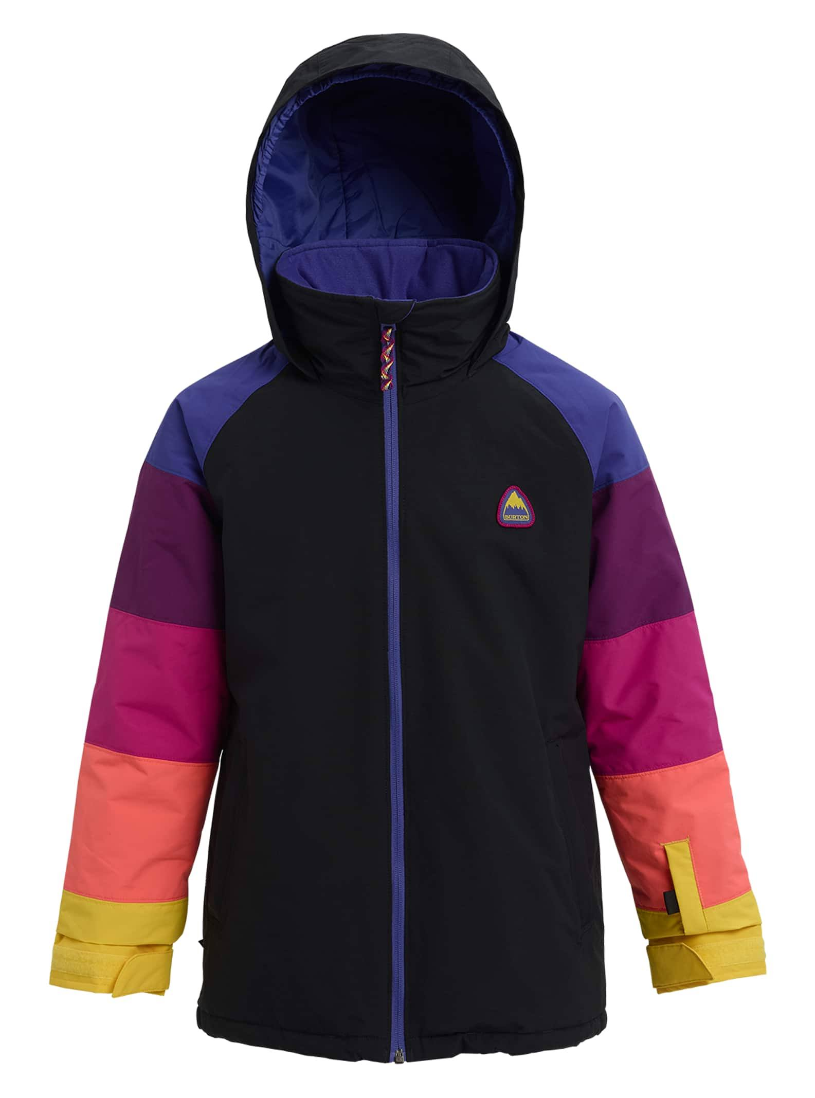 Burton Kids Hart Jacket - True Black/Multi, Small
