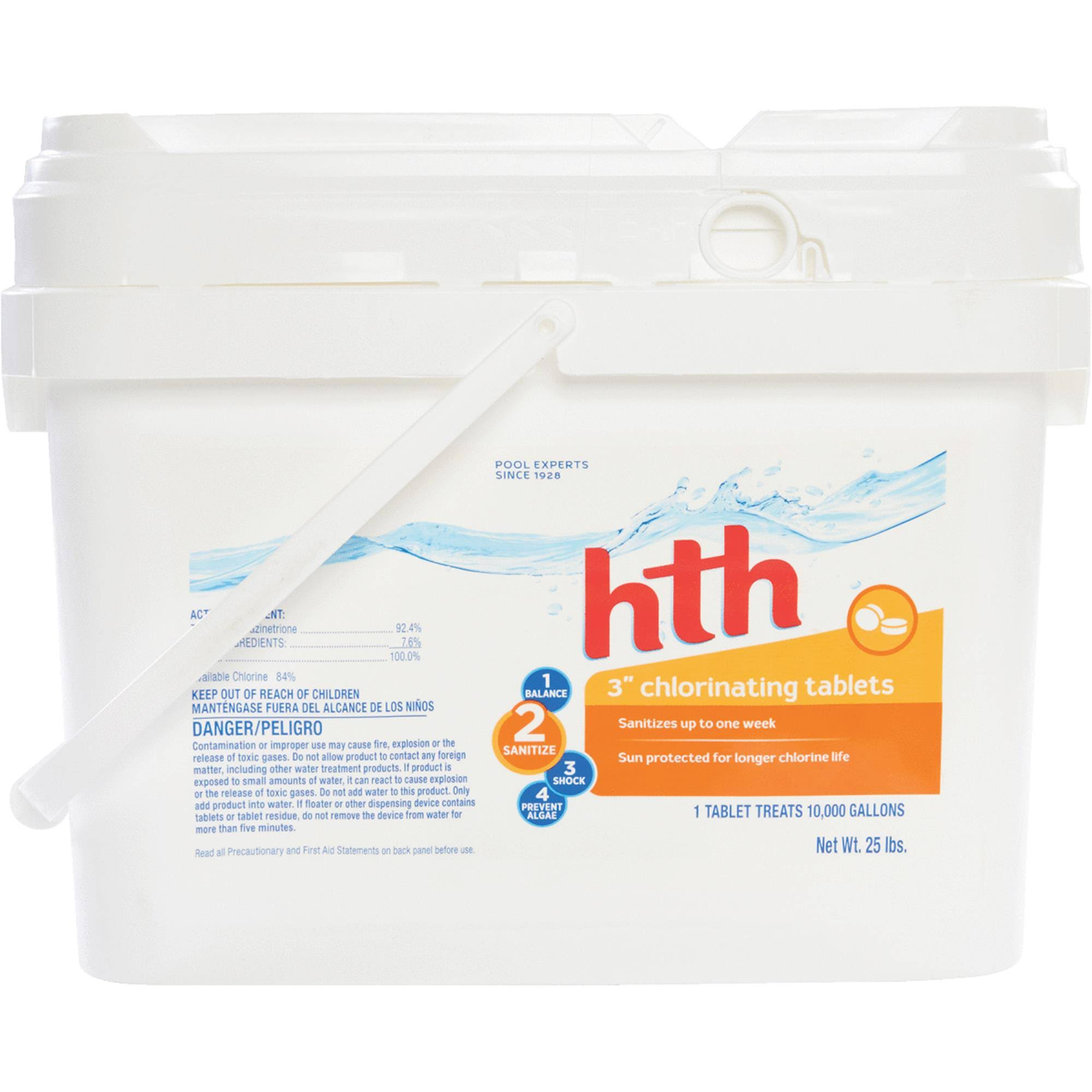 "HTH 3"" Chlorinating Tablets - 25lb"