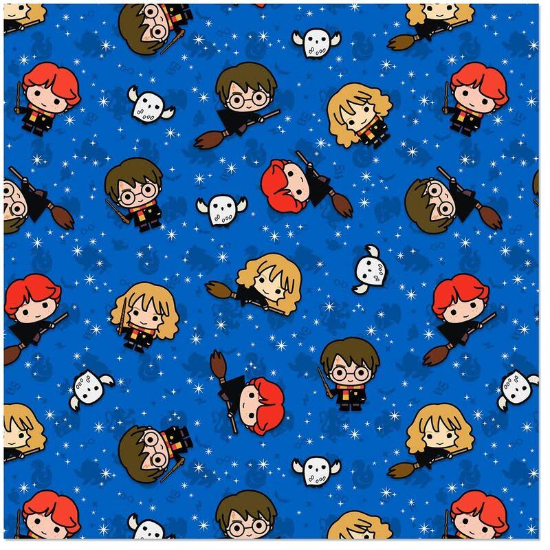 Harry Potter Jumbo Roll Christmas Wrapping Paper, 80 Sq. ft.