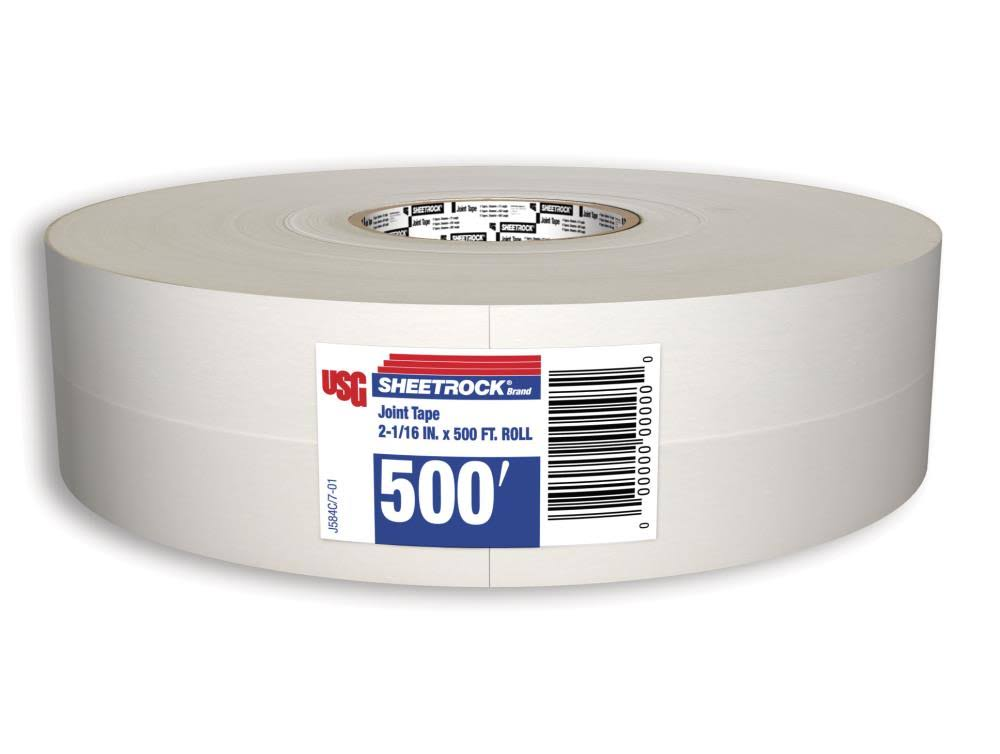 "Sheetrock Paper Drywall Joint Tape - 2 1/16"" x 500 '"