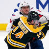 Capitals' Ovechkin fined $5K for spearing Bruins' Frederic