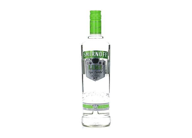 Smirnoff Vodka, Lime Flavored - 750 ml