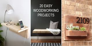 20 easy woodworking projects for beginners