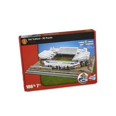 Jigsaw Puzzle - Manchester United Old Trafford Football Stadium 3D