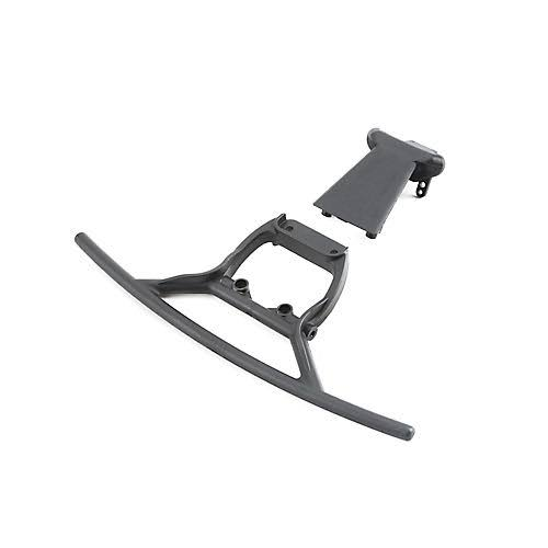 Losi 321009 Front Bumper and Skid Plate: Baja Rey
