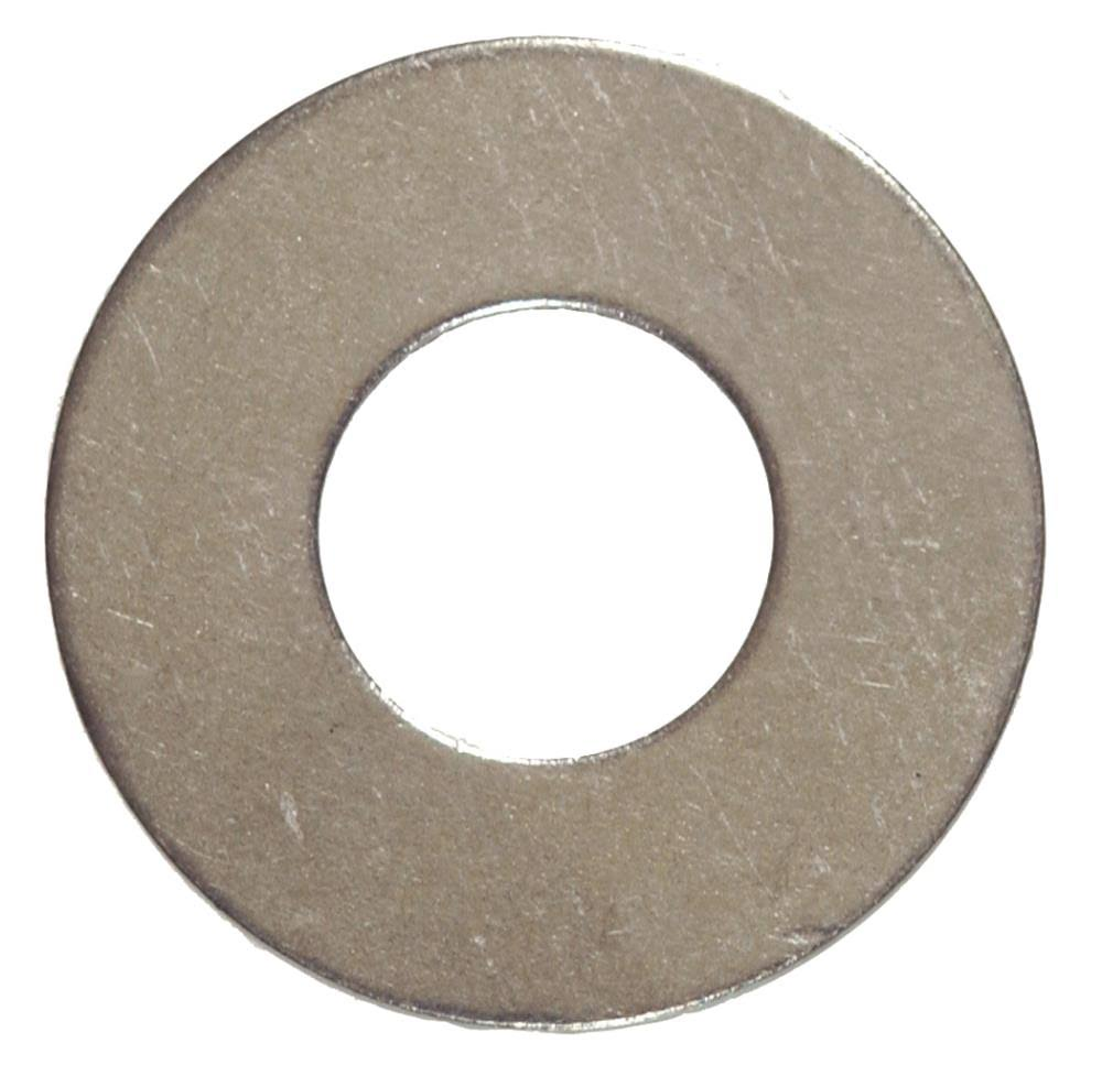 "Hillman Fasteners Steel Flat Washer - 0.19"", Zinc Plated, 100 Pack"
