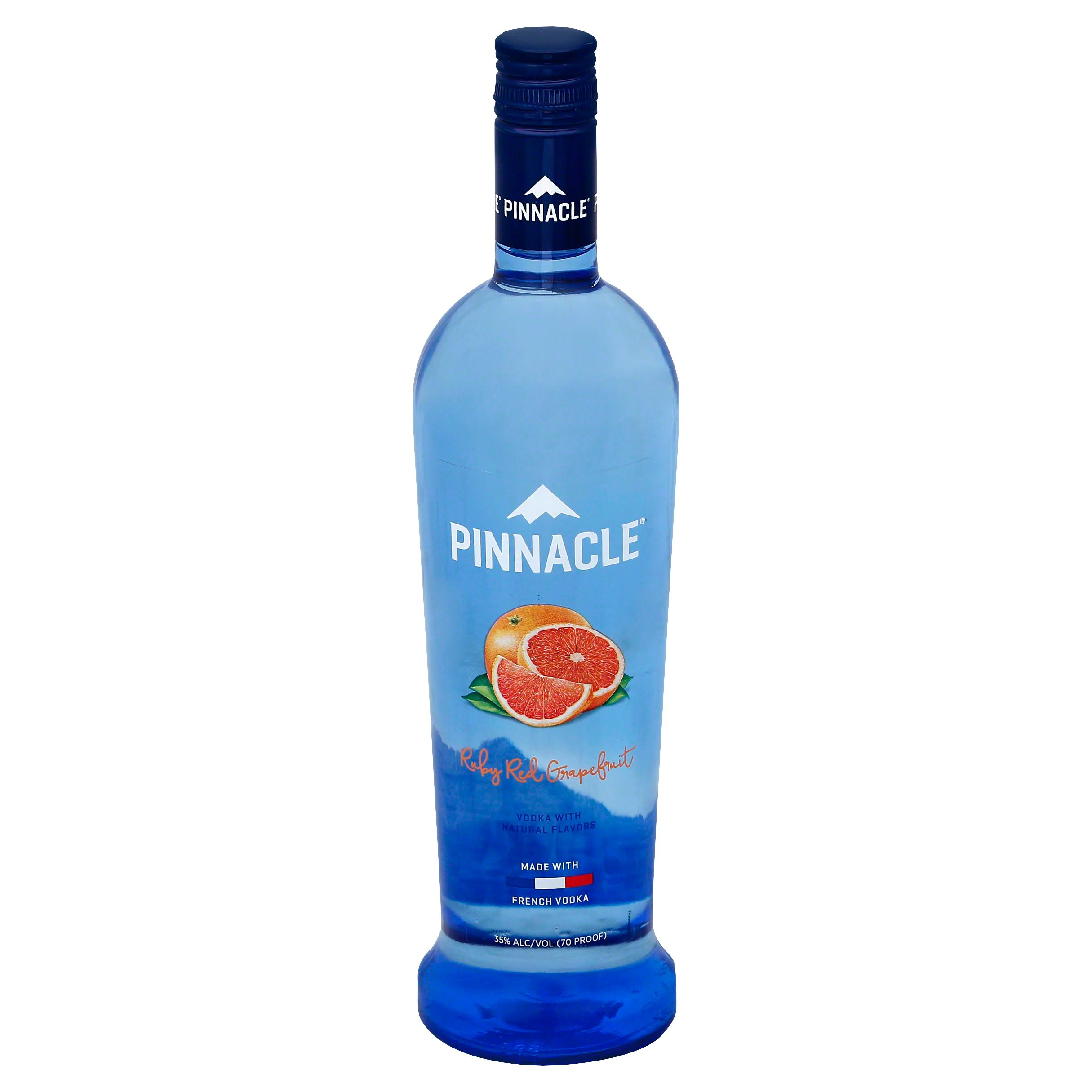Pinnacle Ruby Red Grapefruit Vodka - 750ml