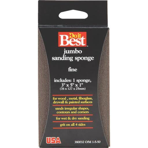 Do it Best 380032 All-Purpose Sanding Sponge