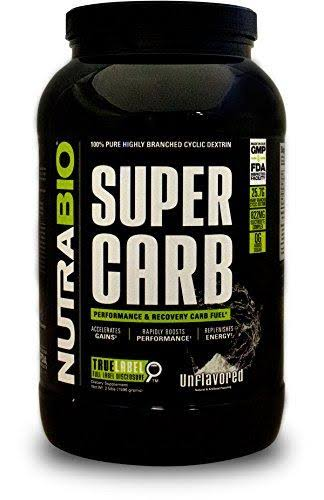 NutraBio Super Carb - Raw Unflavored