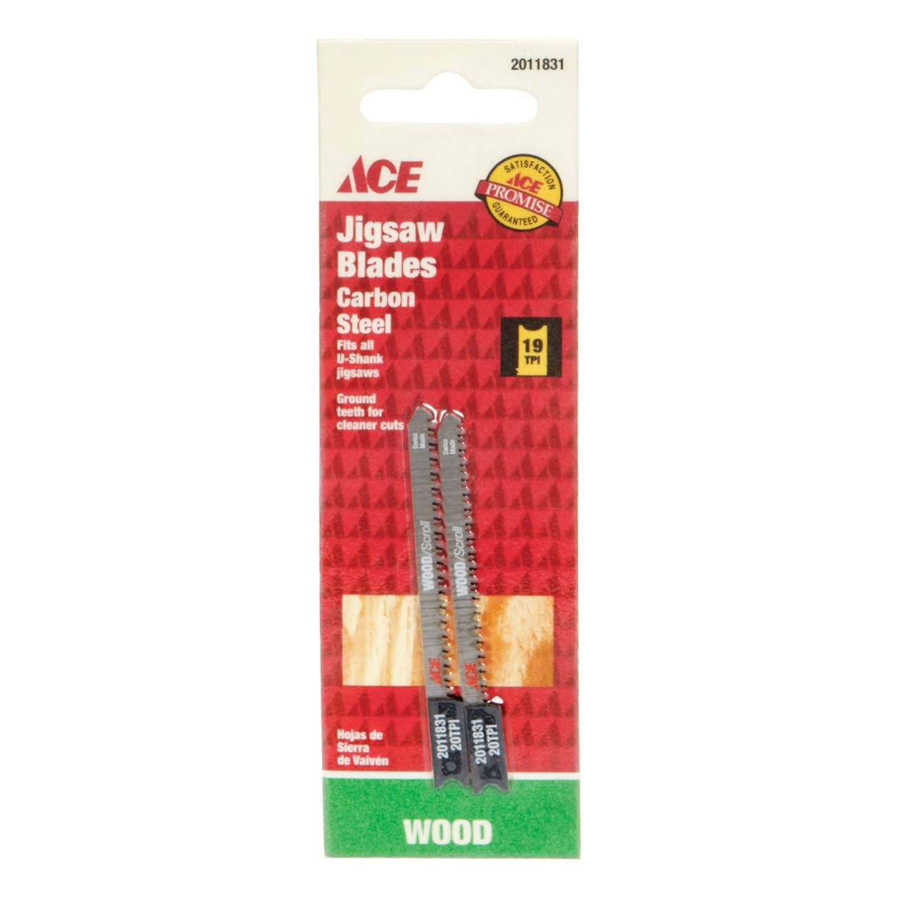 Ace Scrolling Jig Saw Blades