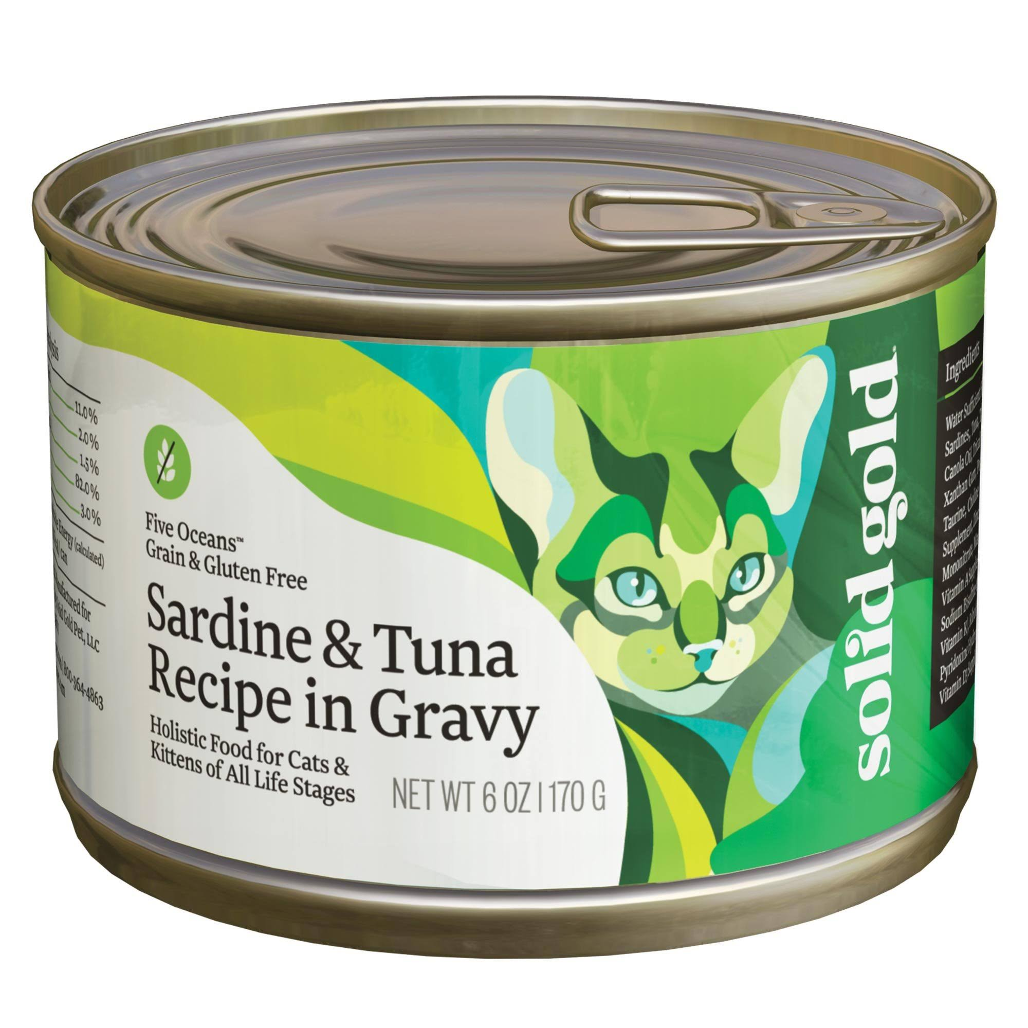 Solid Gold Cat Food - Sardine & Tuna, 170g