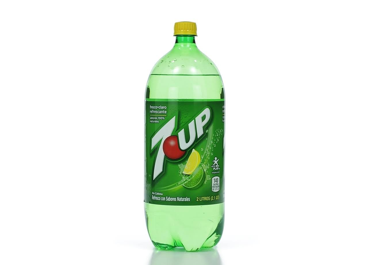 Dr. Pepper 7 Up Soda Soft Drink - Lemon Lime, 67.63oz