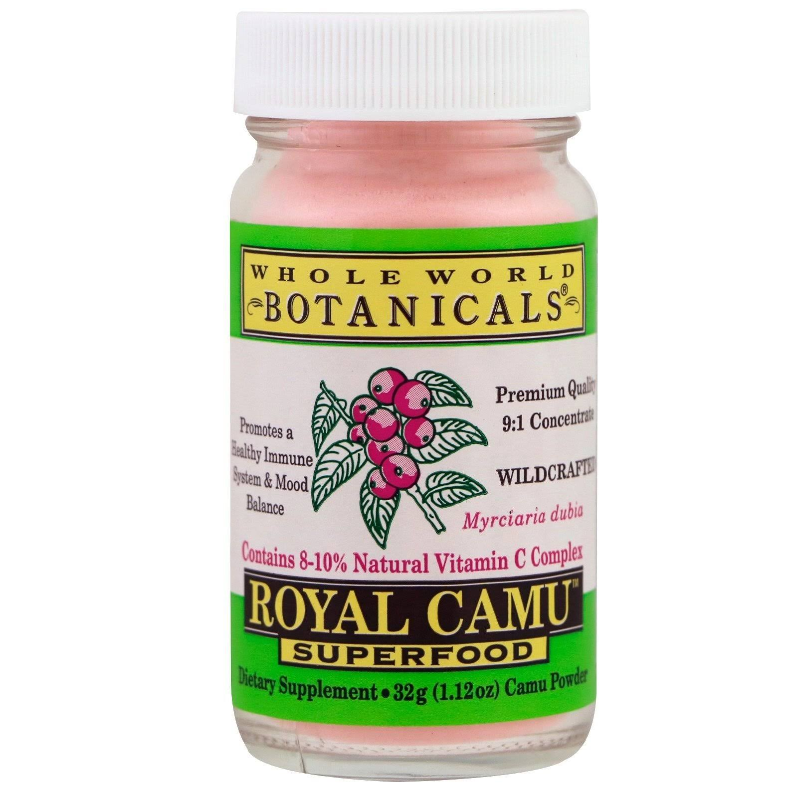 Whole World Botanicals Royal Camu Superfood - 1.12 oz jar