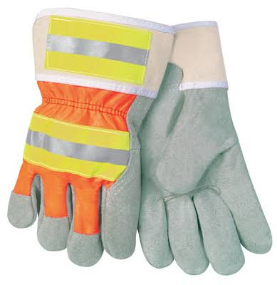 Safety Works SWX00107 Safety Gloves - Leather Palm, Large