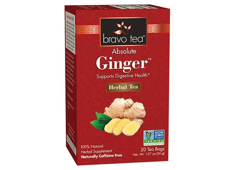 Bravo Tea Ginger Tea 20 Bag
