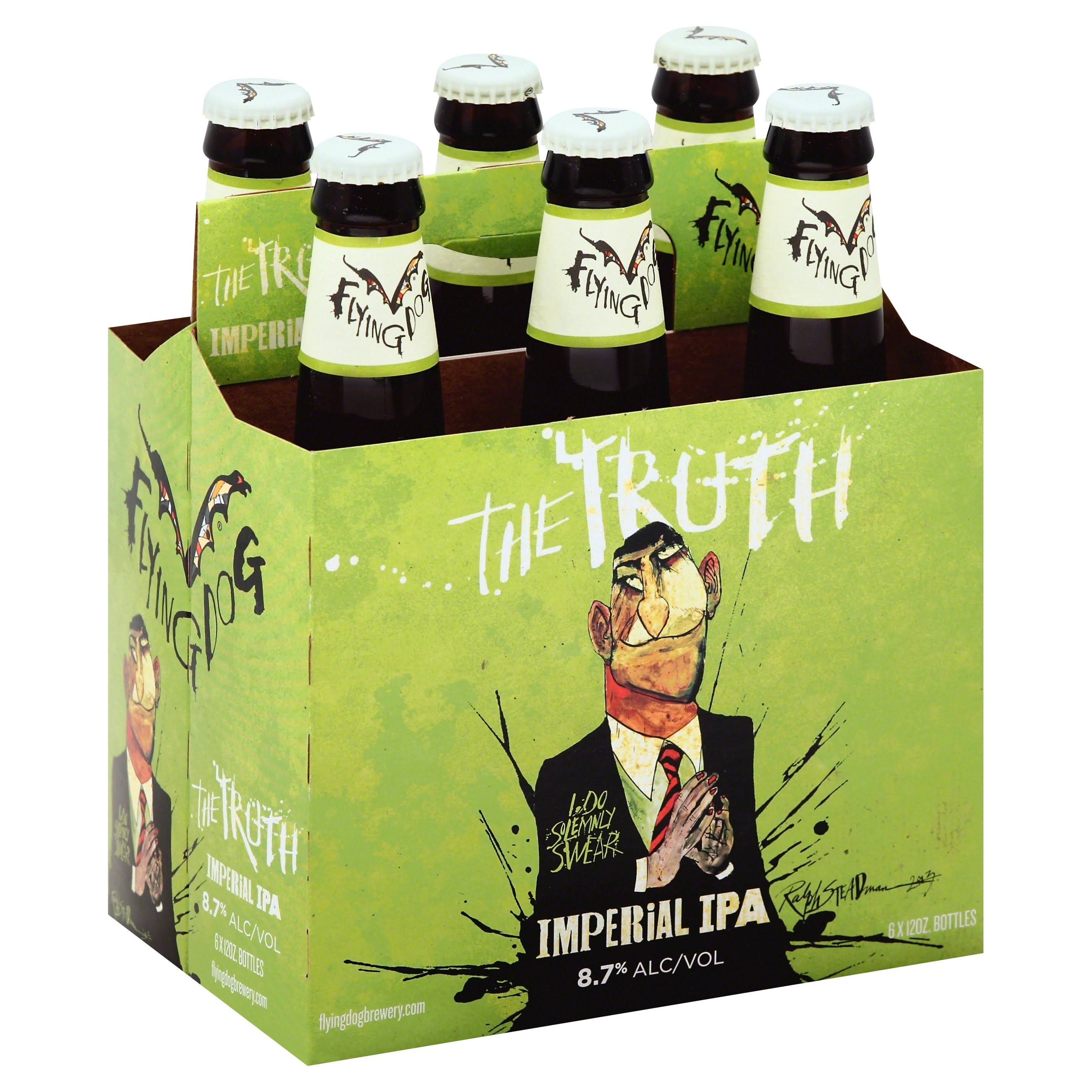 Flying Dog The Truth Imperial Ipa - 6pk, 12oz