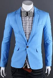 new mens one button casual slim fit stylish suit blazer jackets