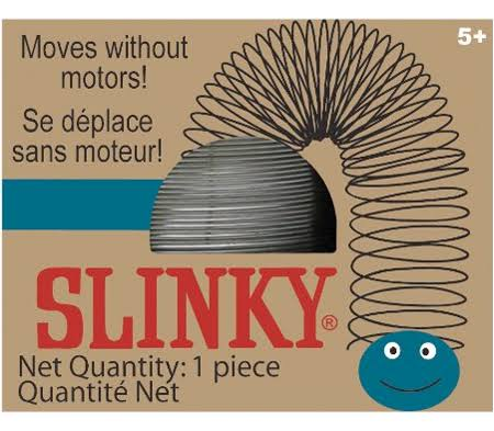 The Original Slinky Brand Metal Slinky - in Blue Retro Box