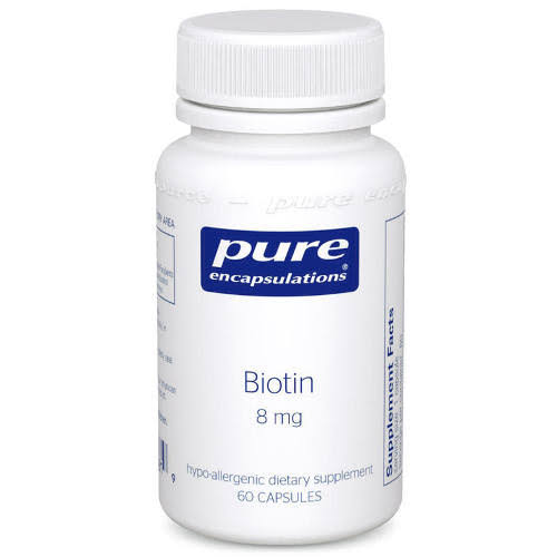 Pure Encapsulations - Biotin - 8 mg - 60 Capsules