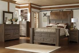 Coal Creek Bedroom Set by Wanda Storage Bedroom Bench Modern And Contemporary Grey Fabric