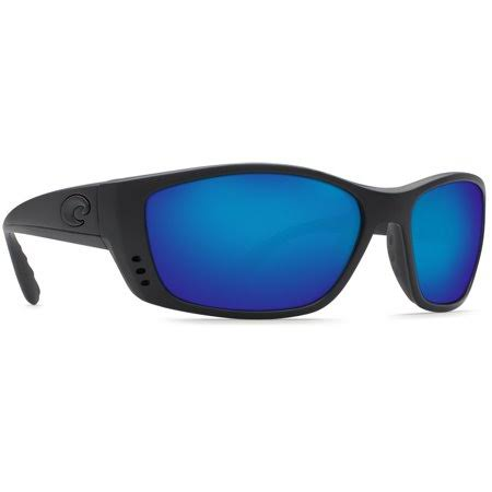 Costa Del Mar Fisch C-mate Sunglasses - Black, Blue Lens, 580p