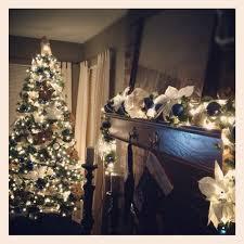 Raz Gold Christmas Trees by Beautiful Garland And Christmas Tree Blue And Gold Christmas