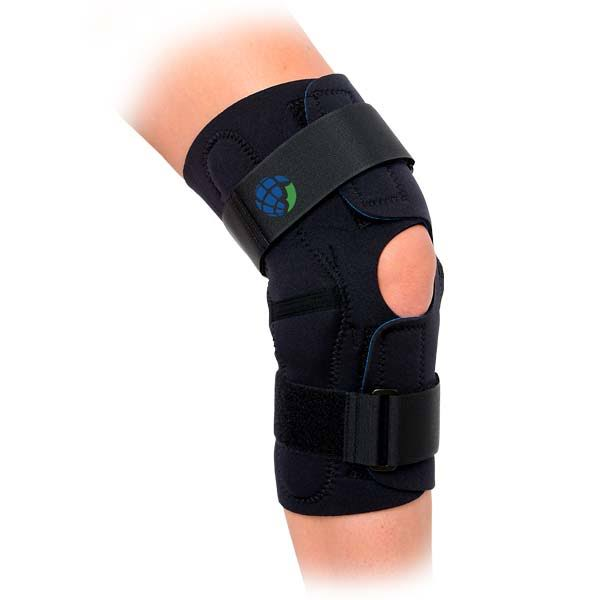 Advanced Orthopaedics 603 Wrap-Around Hinged Knee Brace - Small