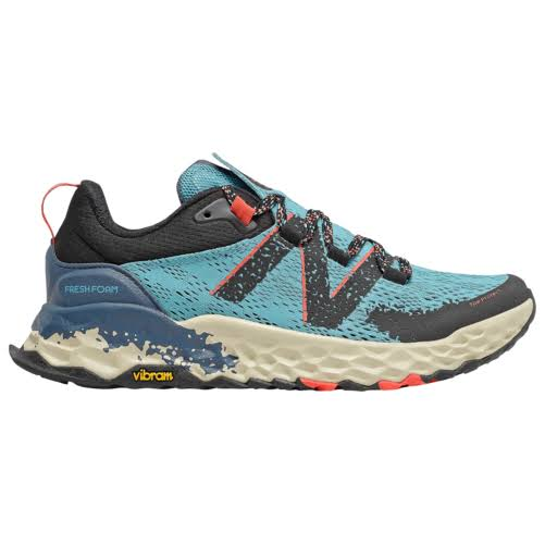 New Balance Women's Fresh Foam Hierro V5 Trail Running Shoes - Blue/Red/Black