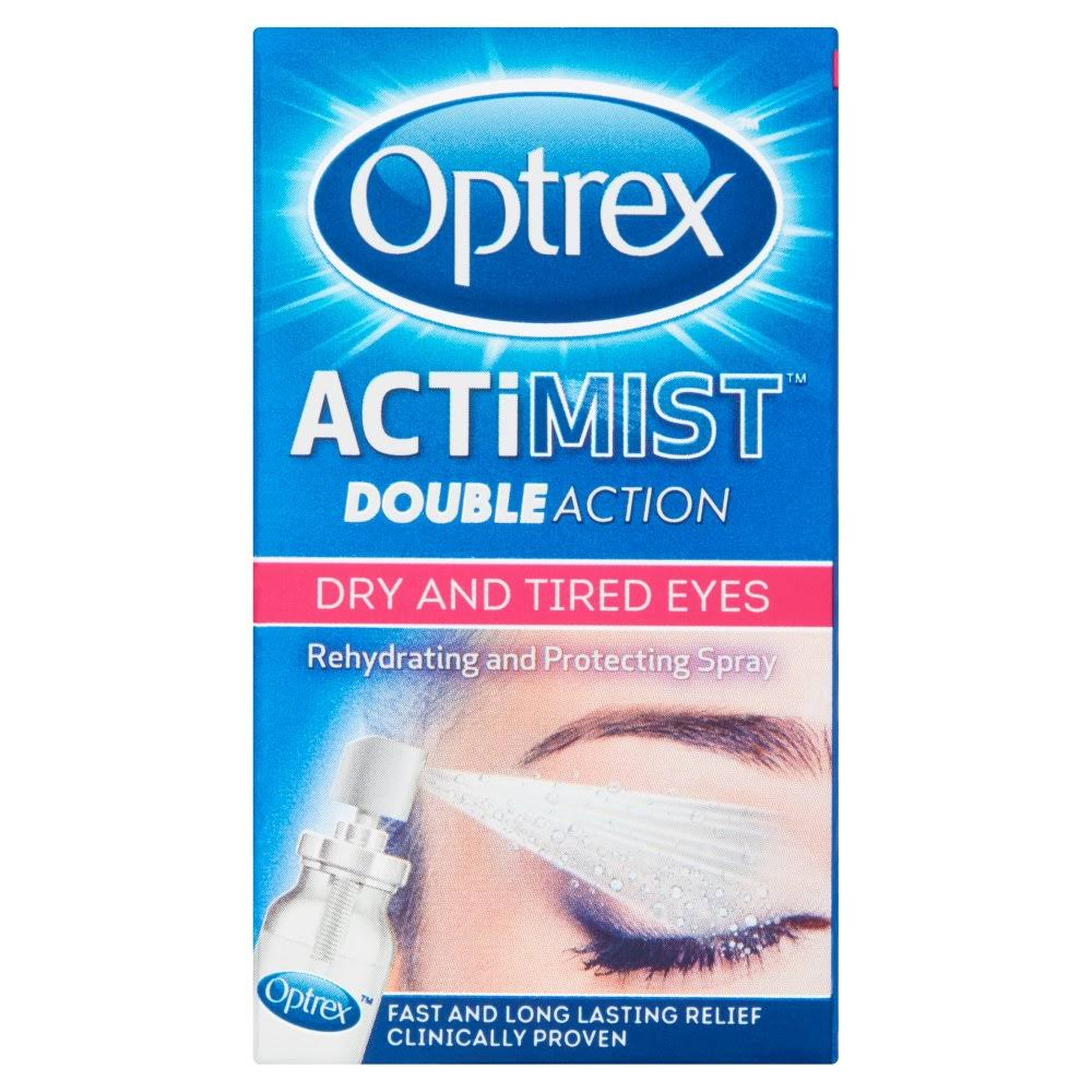 Optrex Actimist Double Action Dry and Tired Eyes Spray - 10ml