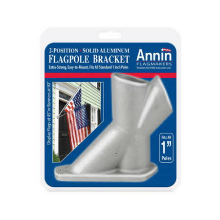 Annin Flagmakers 286500 1.25 inch Aluminum Flag Bracket,
