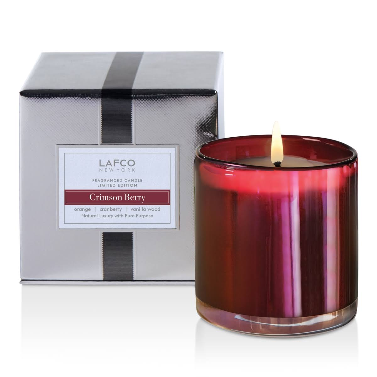 Lafco Limited Edition Signature Candle - Crimson Berry
