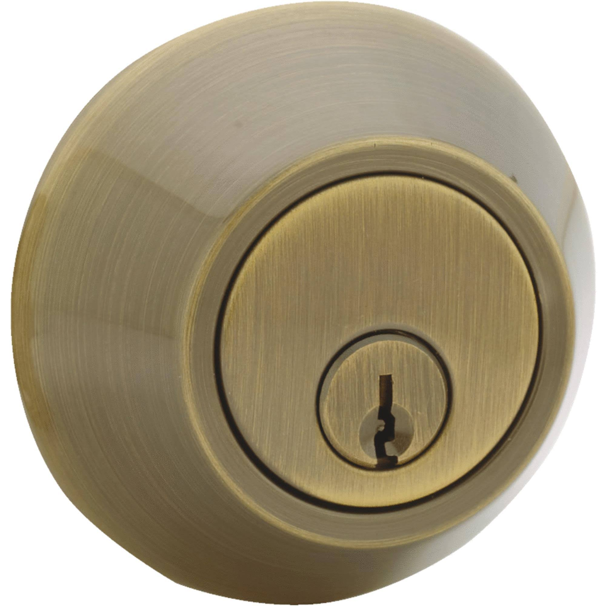Steel Pro Single-Cylinder Deadbolt - D101AB CP