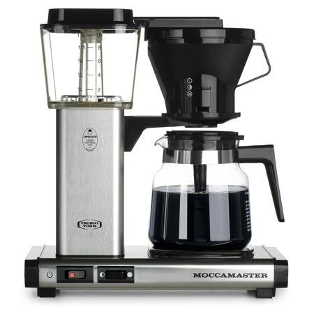 Technivorm Moccamaster KB 741 Coffee Brewer - Brushed Silver