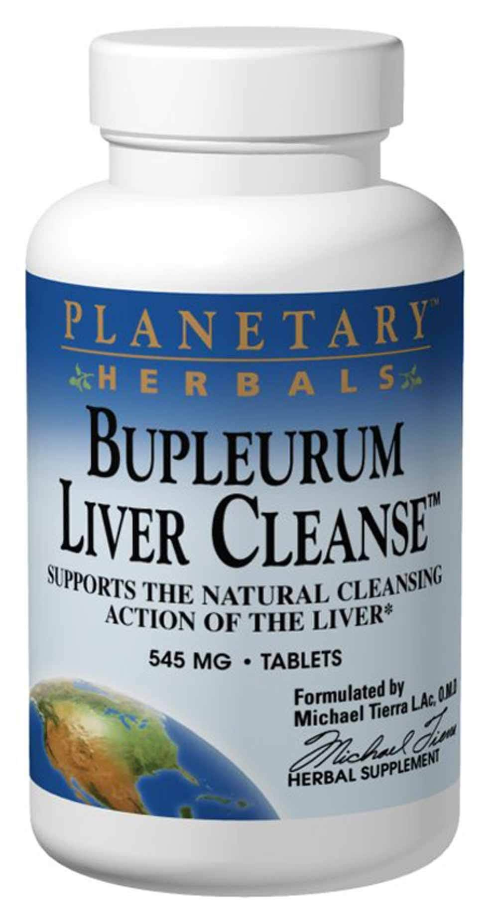 Planetary Herbals Bupleurum Liver Cleanse Supplement - 72 Tablets