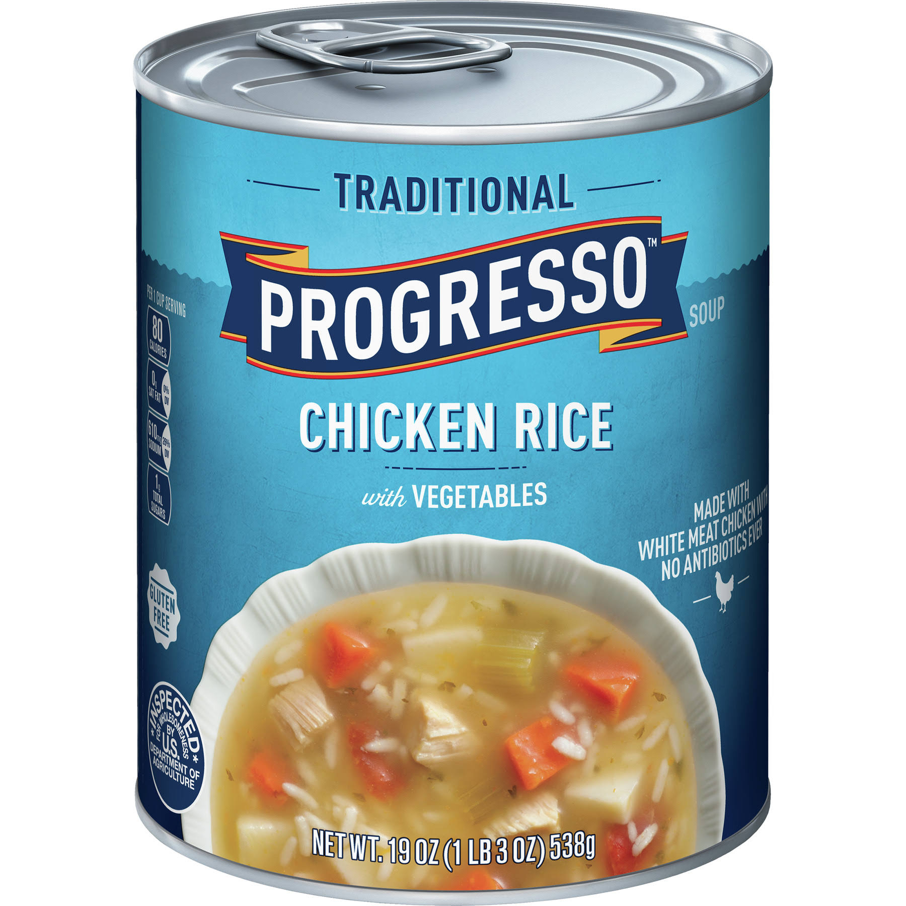 Progresso Traditional Soup - Chicken Rice/Vegetables, 19oz