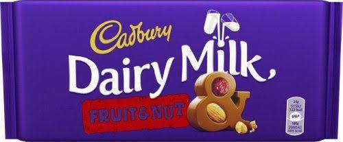 Cadbury Dairy Milk Fruit & Nut Chocolate - 200g