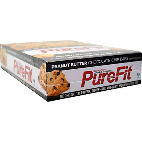 PureFit Gluten-Free Nutrition Bars - Peanut Butter Chocolate Chip, 2oz, Pack of 15