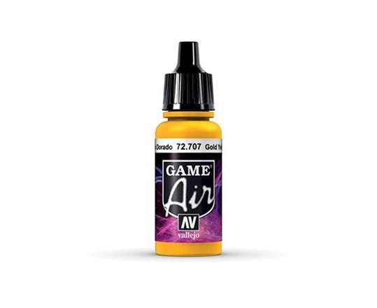 Vallejo Game Air Paint - Gold Yellow, 17ml