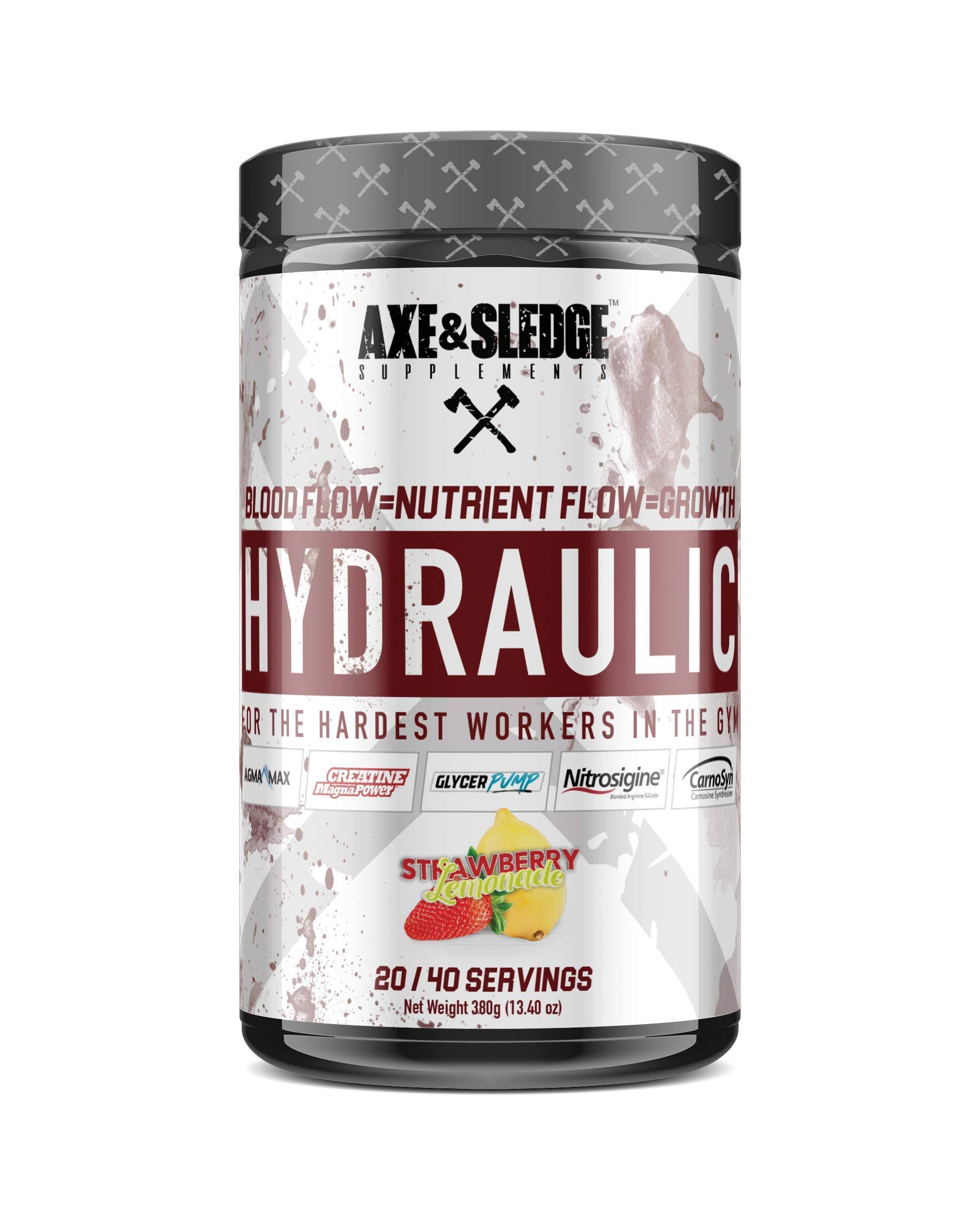 Axe & Sledge Hydraulic Strawberry Lemonade