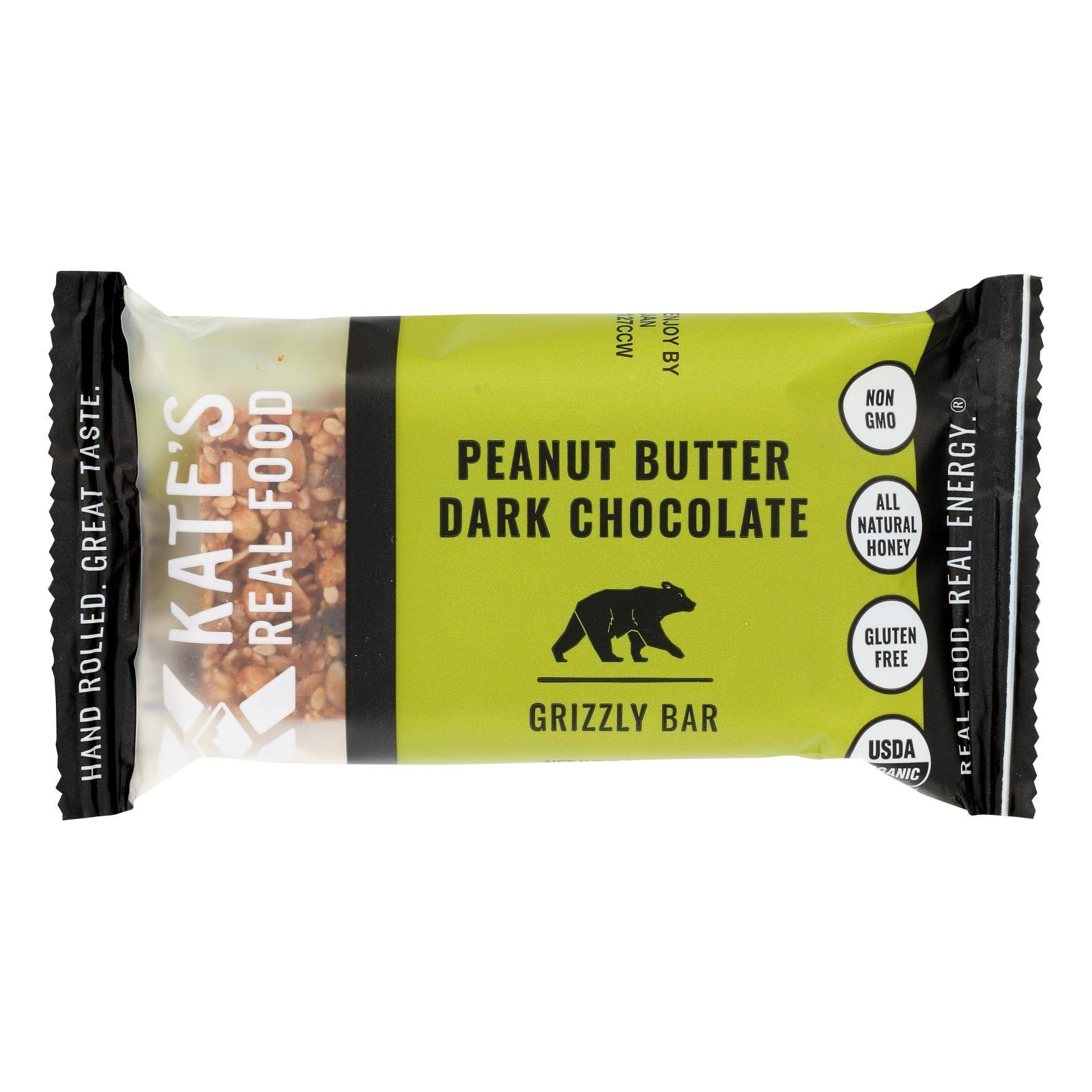 Kate's Real Food Handle Bar - Dark Chocolate and Cherry Almobd, 2.2oz
