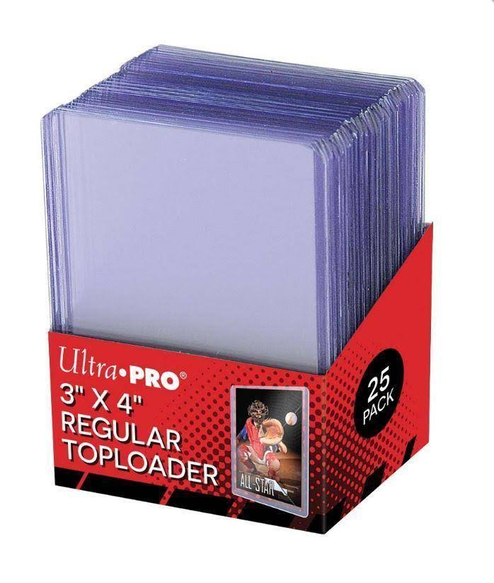 "Ultra Pro Top Loader Baseball Card Holder - 3""X4"", Ultra Clear"