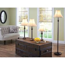 Mainstays Floor Lamp With Reading Light Assembly by Better Homes And Gardens 4 Piece Lamp Set Bronze Finish Cfl