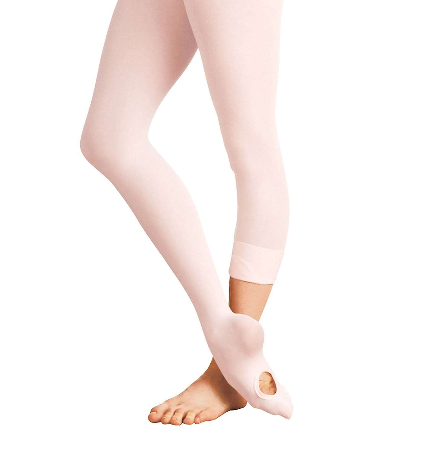 Body Wrappers Girls Convertible Tights C31