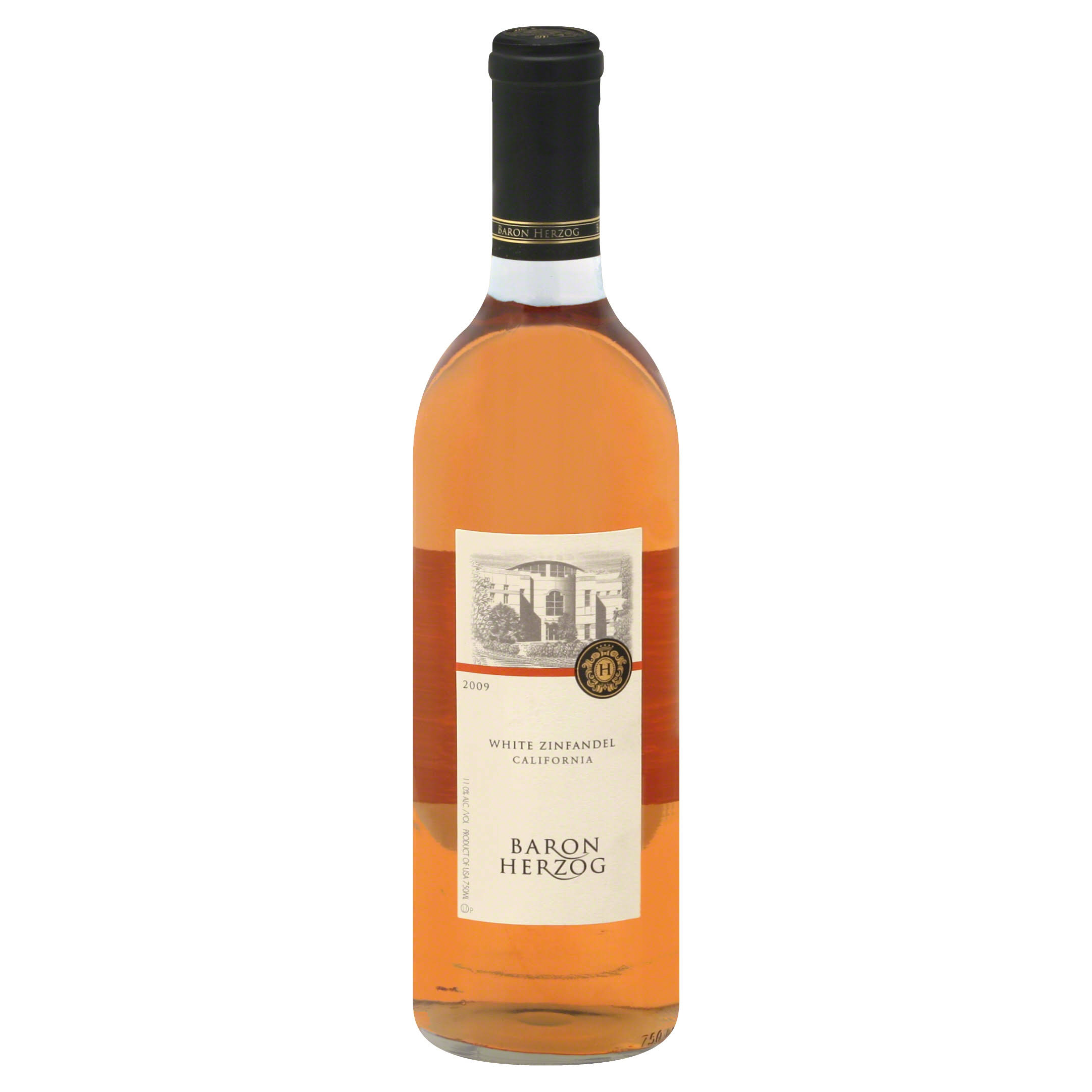 Baron Herzog White Zinfandel, California, 2009 - 750 ml
