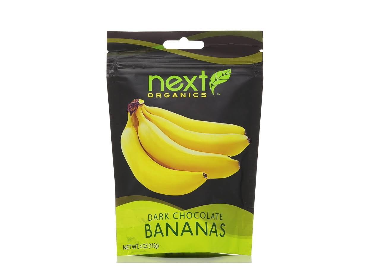 Next Organics Dark Chocolate Bananas
