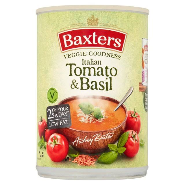 Baxters Vegetarian Italian Tomato and Basil Soup - 400g