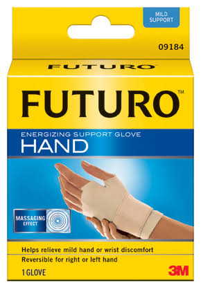 FUTURO Energizing Support Hand Glove - Large, Left